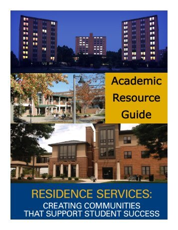 Academic Resource Guide - Kent State University