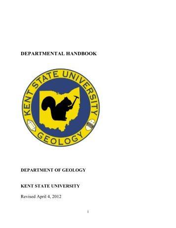 Department Handbook - Kent State University