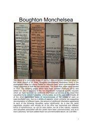 BOUGHTON MONCHELSEA - Kent Fallen