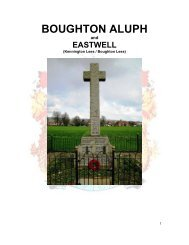 BOUGHTON ALUPH - Kent Fallen