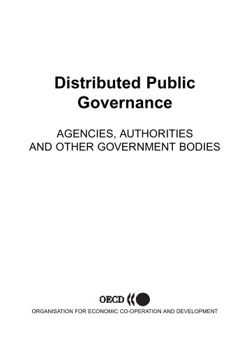 Distributed Public Governance - Claude Rochet