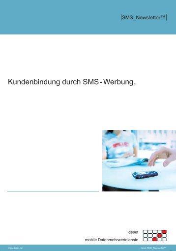 Download SMS_Newsletter Produktbroschüre - deset - mobile ...