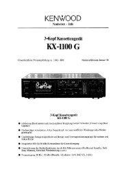 KX-1100 G - Kenwood