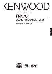 R-K701 - Kenwood