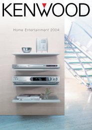 Home Entertainment 2004 - Kenwood