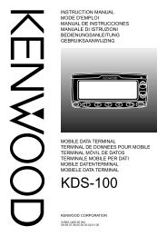 KDS-100 E 00 Cover (00) - Kenwood