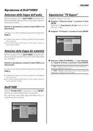 VRS-N8100 (supplemento e correzioni) - Kenwood