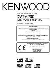 DVT-6200 - Kenwood