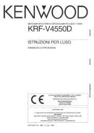 KRF-V4550D - Kenwood