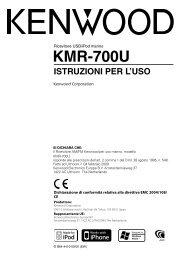 KMR-700U - Kenwood