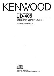 UD-405 - Kenwood