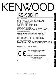 KS-908HT - Kenwood