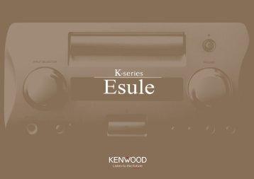 suono puro come l'acqua cristallina - Kenwood
