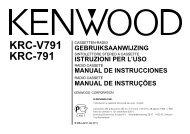 KRC-V791 KRC-791 - Kenwood
