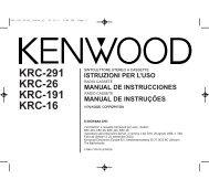 KRC-16G - Kenwood