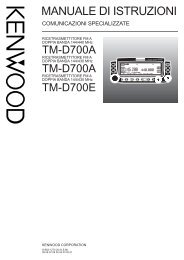 TM-D700(SP) I 00 Cover - Kenwood