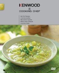 My First Recipes › Livret de recettes › Mijn eerste ... - Kenwood