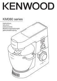 KM080 series - Kenwood