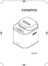 19885 Iss 1 BM366 multilingual:19124 Iss 3 BM450 ... - Kenwood