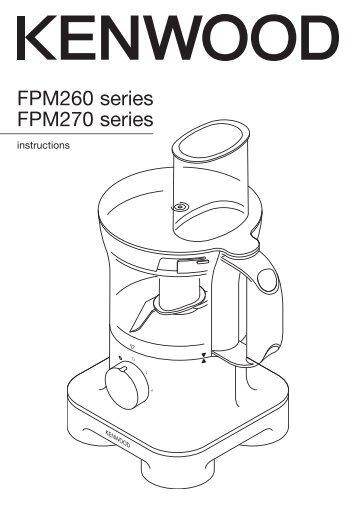 Kenwood kMix Jug Kettle SJM030 SJM040 series Instruction
