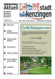Ausgabe 22 2013 - Kenzingen
