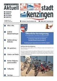 Ausgabe 18 2013 - Kenzingen