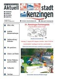 Ausgabe 33 2013 - Kenzingen