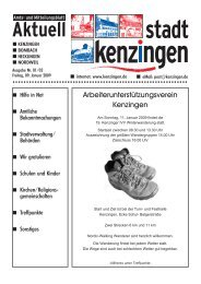 Ausgabe 01/02 2009 - Kenzingen