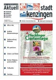 Ausgabe 25 2013 - Kenzingen