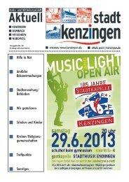 Ausgabe 26 2013 - Kenzingen