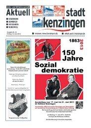 Ausgabe Nr. 24 Freitag, 14. Juni 2013 Open-Air ... - Kenzingen
