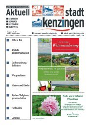 Ausgabe 20 2013 - Kenzingen