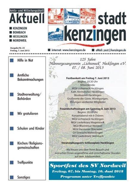 Ausgabe 23 2013 - Kenzingen