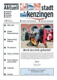 Ausgabe 28 2013 - Kenzingen