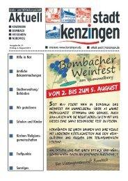 Ausgabe 31 2013 - Kenzingen