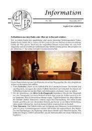 Kepler-Info Nr. 102 - Kepler Gymnasium