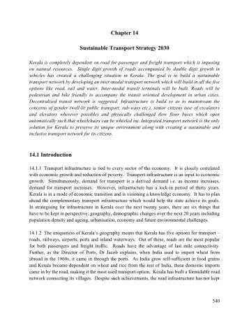 Methodology Background in Urbanisation and Infrastructure for ...
