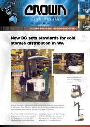 New DC sets standards for cold storage distribution in WA
