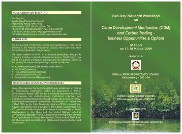 Download Brochure (PDF) - Energy Management Centre Kerala