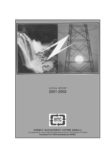 2001-02 - Energy Management Centre Kerala