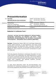 Presseinformation - Keramag AG