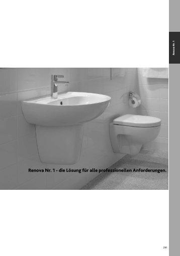 Renova Nr. 1 - die Lösung für alle professionellen ... - Keramag