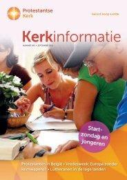 Kerkinformatie nr. 195, september 2011 - Kerk in Actie