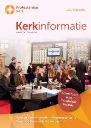 Kerkinformatie nr. 178, februari 2010 - Kerk in Actie