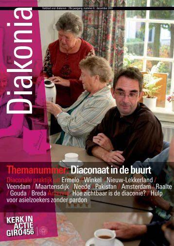 Diakonia - december 2007 - Kerk in Actie