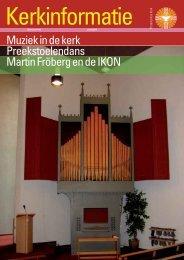 Kerkinformatie nr. 149, juni 2007 - Kerk in Actie
