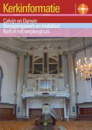 Kerkinformatie nr. 167, februari 2009 - Kerk in Actie