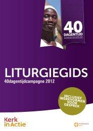 Liturgiegids - Kerk in Actie