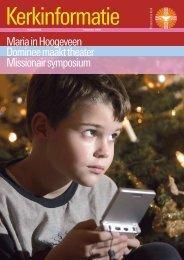Kerkinformatie nr. 165, december 2008 - Kerk in Actie