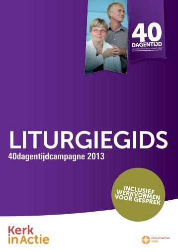 de Litugiegids 2013 - Kerk in Actie